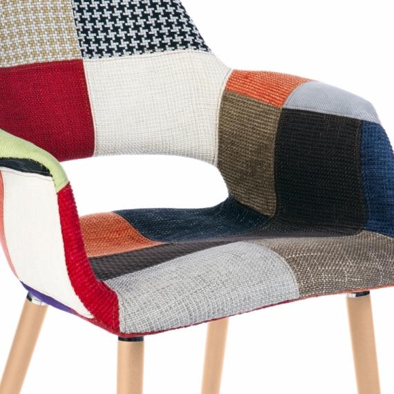Furmod Osteen Patchwork Chair