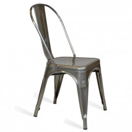 Cadeira Bistro de Metal