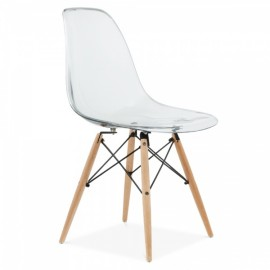 """James Wood DSW Trasparent Chair """"New Edition"""""""