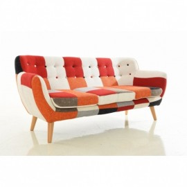 Club Patchwork Colors Sofa 3 Seater