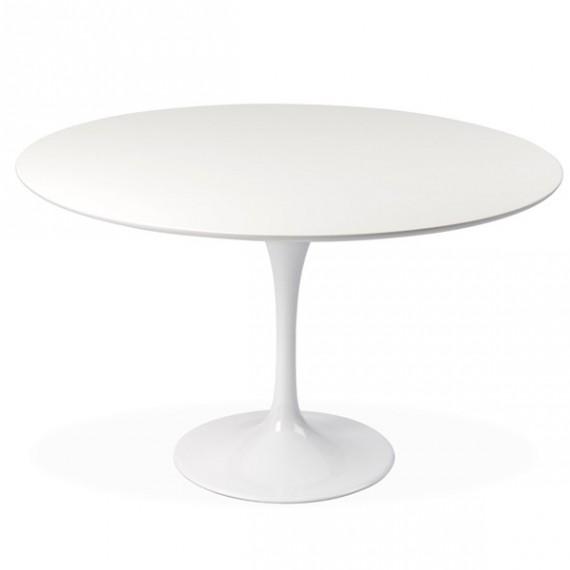 Mesa de jantar em forma de tulipa em MDF 120cm