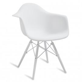 "Cadeira James Wood ""High Quality"" XL Snow"