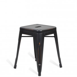 Industrial stool Bistro 45CM Brush