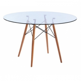 James Glass Table (120 cm)