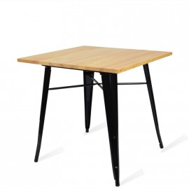 Industrial table Bistro Light Legs Black