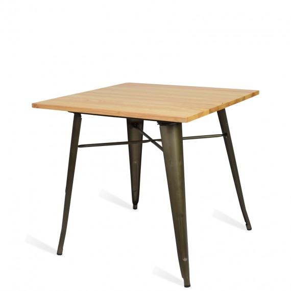 Industrial table Bistro Light Legs Antique