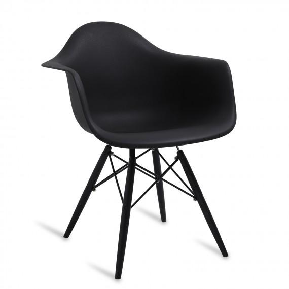 All Black XL Chair