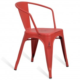 Industrial chair Bistro Brush with arms