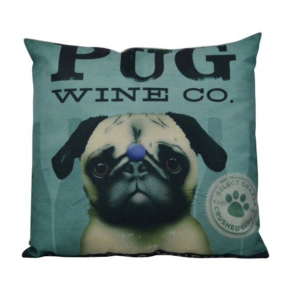 Cojín Pug