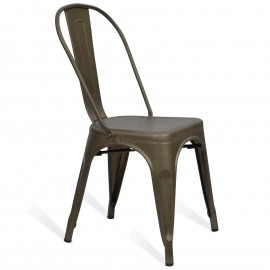 Silla industrial Bistro Style Antique