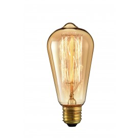 Vintage 40W Bulb with E27 and 220-240V support