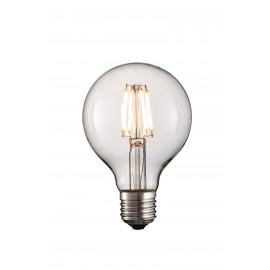 Lâmpada LED redonda 4W 4 led com suporte E27 e 220-240V