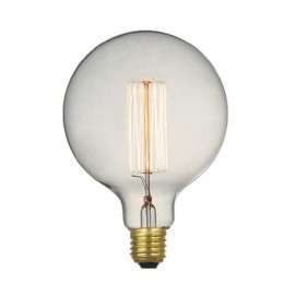 Vintage Ball 40W With Bulb and E27 y 220-240V Support