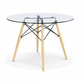James Glass Table (80 Cm)