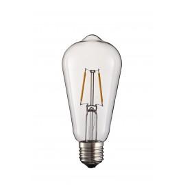 2W lâmpada LED 2 led com suporte E27 e 220-240V