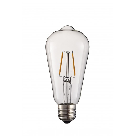 LED Bulb 2W 2 LED with support E27 and 220-240V