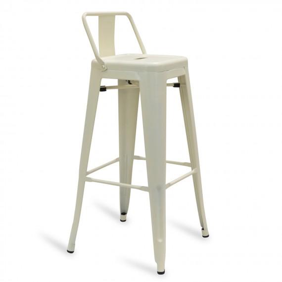 Industrial stool Metal Wide Bistro Matte