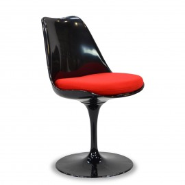 Silla Tulip Chair Black
