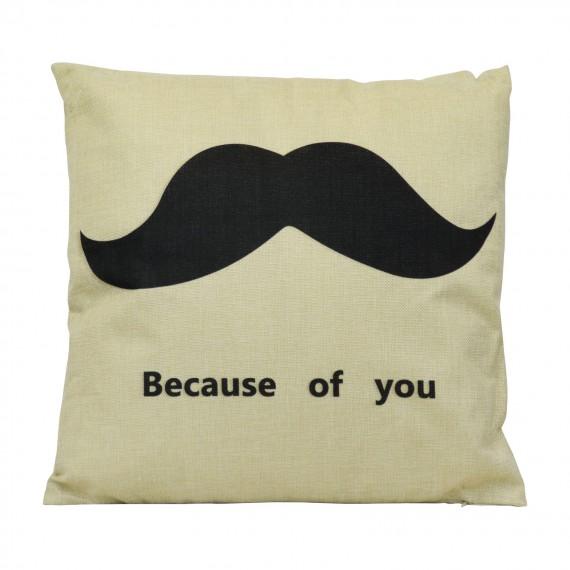 Cojín Moustache