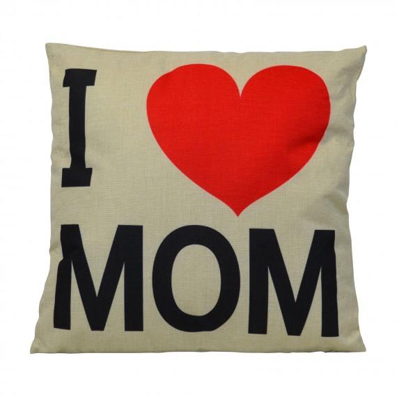 Cojín I Love Mom
