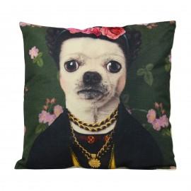 Kahlo Dog Cushion