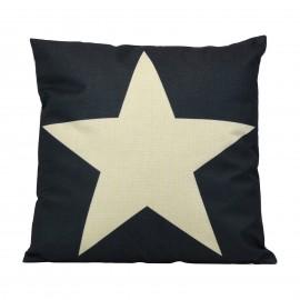 Whitw Star Cushion