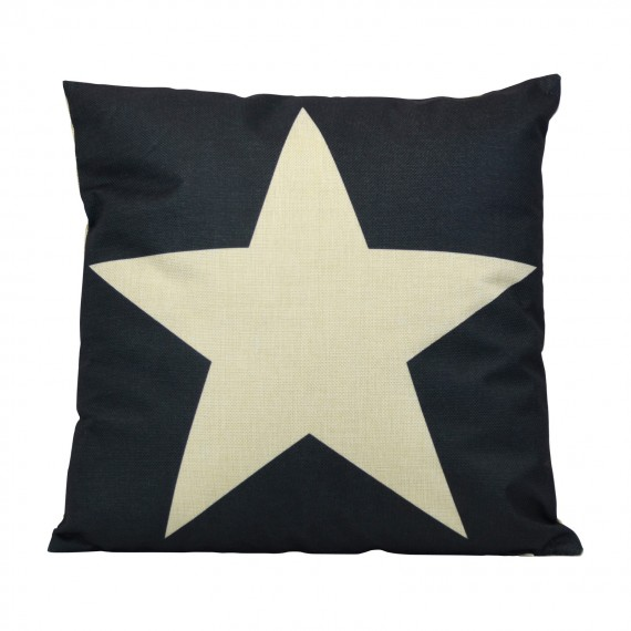 Cojín Whitw Star