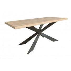 Lotus Rectangular Table 1750x90cm in Oak Wood