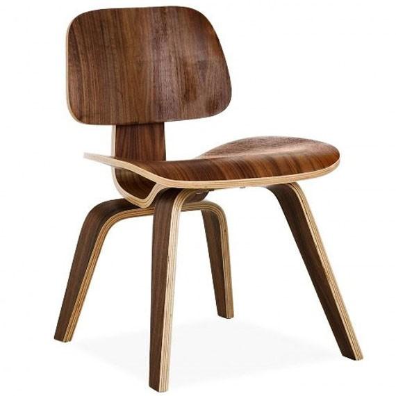 Cadeira de madeira compensada de jantar