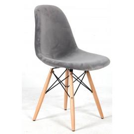 Cadeira James Velvet Grey