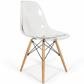 James Wood Trasparent Chair