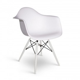 Silla James Wood XL Snow