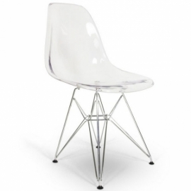 James Metal Chair - Transparent - Designer Chairs