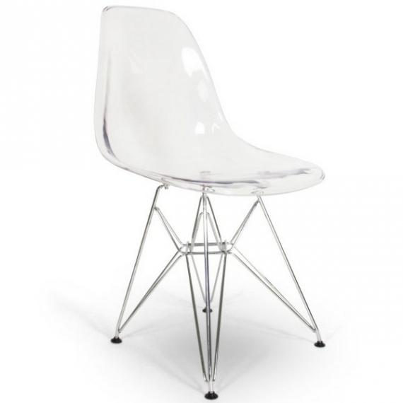 James Metal Chair - Transparent - Designer Chairs