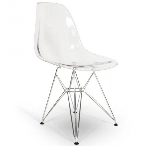 Silla James Metal Transparente - Sillas Diseño