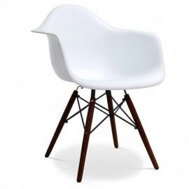 Cadeira escura furmod Eames DAW