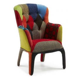 Capitone Patchwork Chair