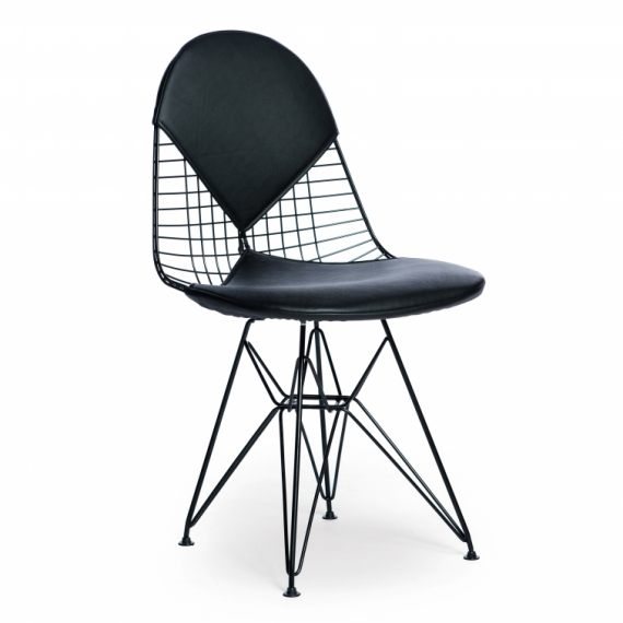 Inspiración Chair Eames DKR-2 Bikini Black Edition