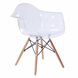 James Wood Chair XL Trasparent