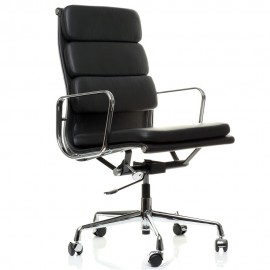 Replica Aluminum EA219 office chair by Charles & Ray Eames.