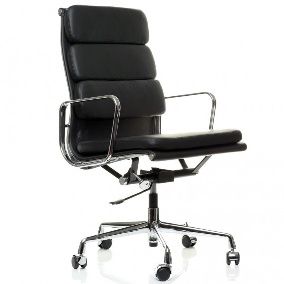 Inspiration Soft Pad Chair EA219 de <span class='notranslate' data-dgexclude>Charles & Ray Eames</span>