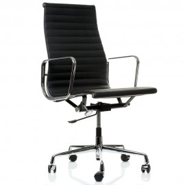 Alu Office Chair HighBack in Full Grain Leather