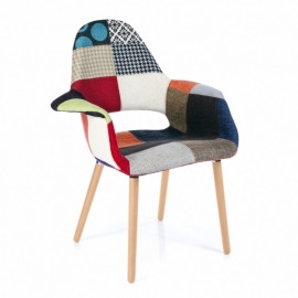 Osteen Patchwork Chair