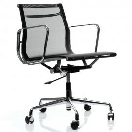 Réplica silla oficina Aluminium EA107 de Charles & Ray Eames.