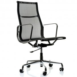 Replica Aluminum EA108 office chair by Charles & Ray Eames.
