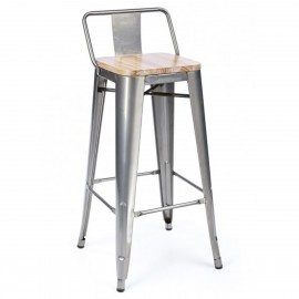 Industrial stool Bistro LB Style Wood