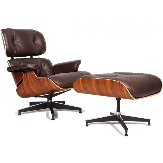 Réplica butaca Eames Lounge chair original de Charles & Ray Eames
