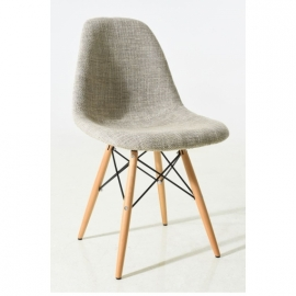 James Wood Fabric Chair