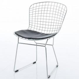Réplica silla Bertoia cromada de Harry Bertoia