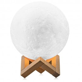 Minimalist Moon Light LED lamp with USB charger and remote